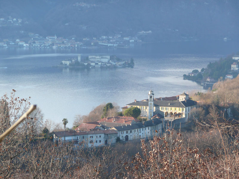 Lortallo from Monte Mesma (Walk 4 from Villa Gelsomina) - 30/12/2011