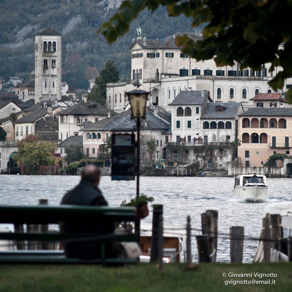 Autumn view from Piazza Motta - Orta San Giulio - Photo with permission and courtesy of Giovanni Vignotto 2012