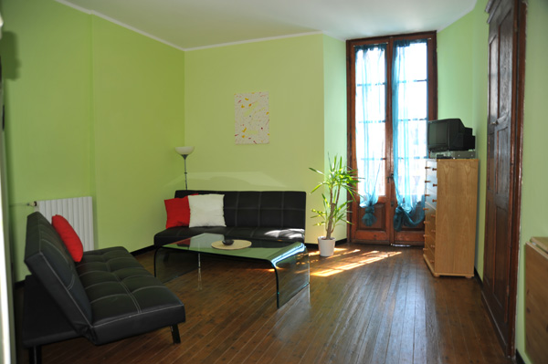 Spacious Living Room of Orchidea in Orta San Giulio (picture August 2011)