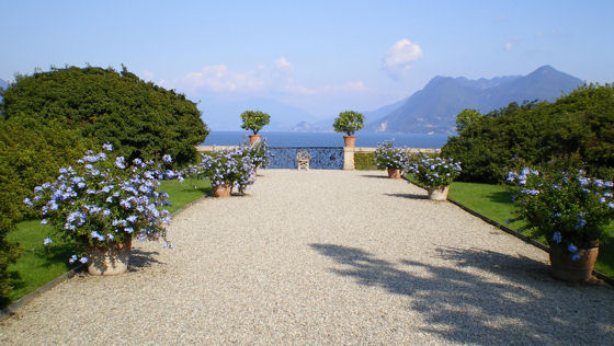 The beautiful gardens of the Isola Bella on Lake Maggiore.  Summer 2008, photo courtesy of David Hammond