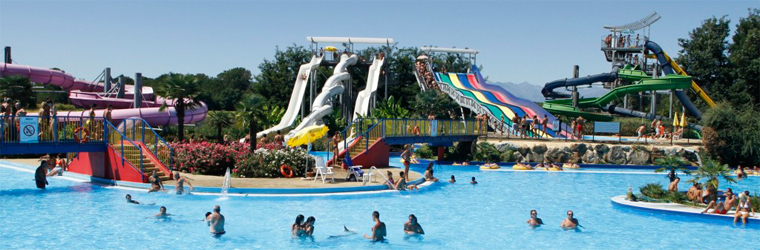 Ondaland, the fantastic water park near Vicolungo. Click for more info.