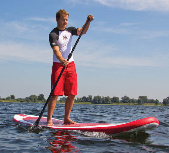 Standup Paddles can be hired from Pella mmarina